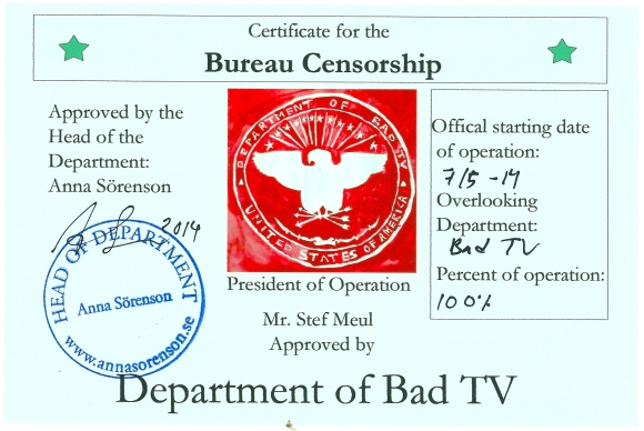 Cert_Bad TV