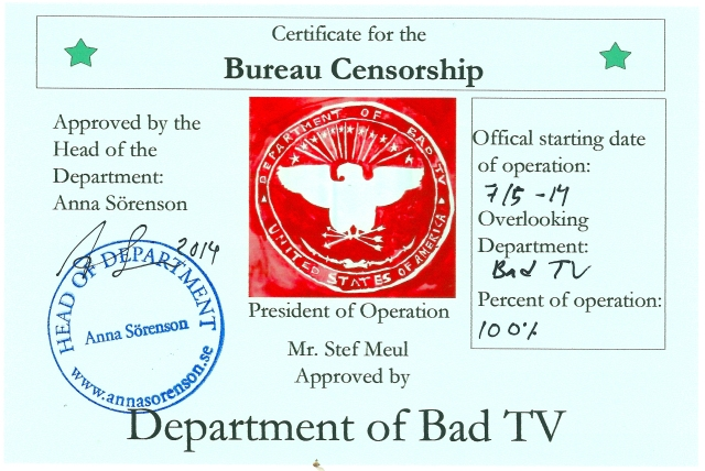 Cert_Bad TV